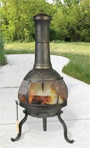 Sonora Chimenea Outdoor Fireplace