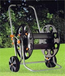 Metal Gemini Hose Cart
