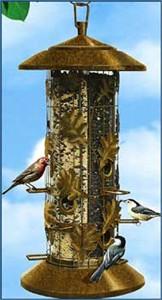 Squirrel-Be-Gone Bird Feeder
