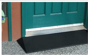 EZ-ACCESS Rubber Threshold Ramp