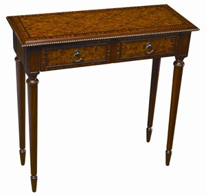 Transitional Hall Table