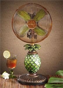 Deco Breeze DBF0247 Pineapple Table Fan