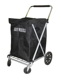 Easy Wheels Canvas Shopping Cart