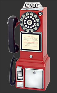 Crosley CR56 Pay Phone