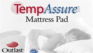 TempAssure Temperature Regulating Mattress Pad