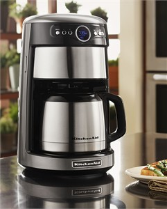 Kitchenaid Programmable Coffee Maker Thermal Carafe : KitchenAid KCM1203 Thermal Carafe 12 Cup Drip Coffee Maker