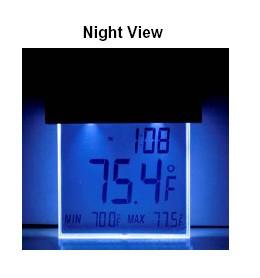 La Crosse 306-605 Solar Window Thermometer
