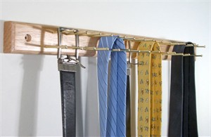Tie Hanger with 30 Tie Bars