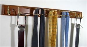 Tie Hanger with 20 Tie Bars