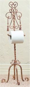 Swag & Tassel Toilet Tissue Valet
