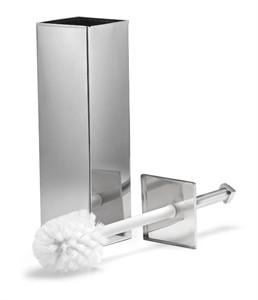 Square Toilet Brush Canister