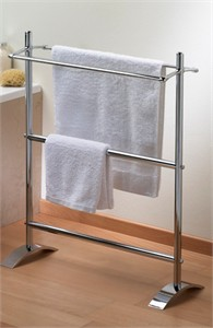 Valsan 53519 Free Standing Double Towel Bar