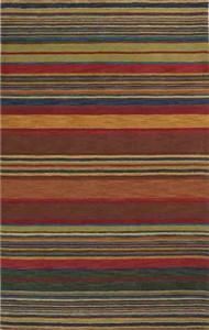 Trans Ocean 9441/44 Stripes Multi Inca Area Rug