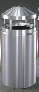 Glaro H2001 SA Canopy Top Wastemaster Outdoor Trash Can