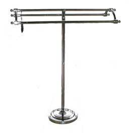 Pedestal Towel Rack