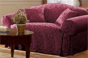 Scroll Sofa Slipcover from Surefit