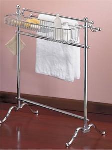 Valsan 53516 Floor Stand Towel Valet