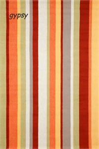 Bright Bold Vertical Stripe Indoor Outdoor Rug