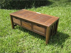 Storage Bench with Drawers
