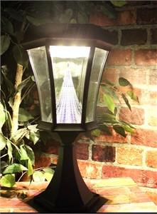 Gama Sonic GS-94FPW-WW Victorian Warm White Solar Light