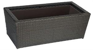 DMC Vista Resin Wicker Planter Box