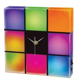 Color Change LED Wall Clock