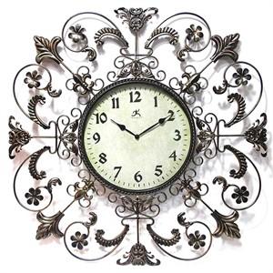 """Fleur de Lis 26"""" Wall Clock"""