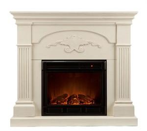 Holly & Martin 37-213-023-6-18 Salerno Electric Fireplace Ivory