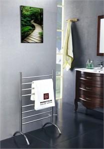 Warmly Yours TW-BC-08BS-FS Barcelona Towel Warmer