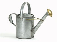 18th Century Style Galvanized Watering Can