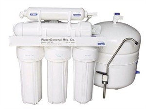 Reverse Osmosis Water Purification System : Water General RO585A