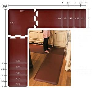 WellnessMats LS2WMP Puzzle Piece Kitchen Floor Mat