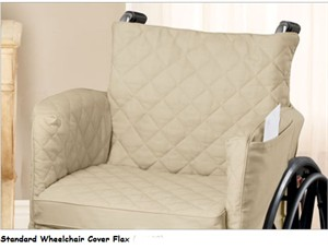 Surefit Twill Supreme Wheelchair Slipcover and Cushion