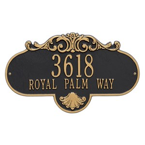 Whitehall 2018 Rochelle Home Address Sign