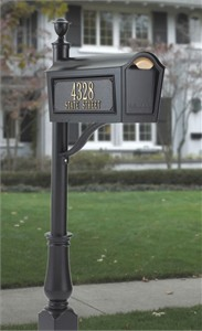 Whitehall Standard Chalet Personalized Curbside Mailbox