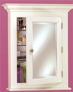 Afina Wilshire I Surface Mount Bath Cabinet Small