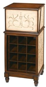Flip Top Wine Storage Cabinet