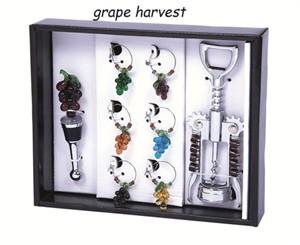 Wine Bling Wine Charm Set