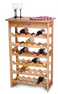 Wine Stands : 36 Bottle Storage Unit