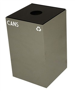 Witt Slate Gray Geo Cube Recycler