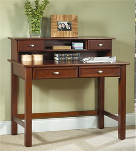Homestyles 5532-162 Hanover Student Desk and Hutch