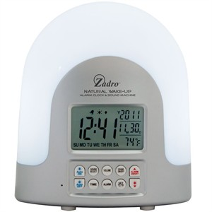 Zadro SUN1 Natural Light Alarm Clock